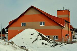 Gradnja gasilskega doma - februar