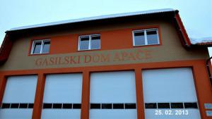 Gradnja gasilskega doma - marec