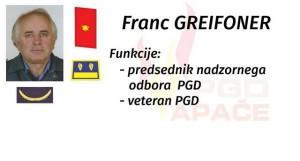 Franc Greifoner